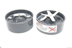 1 NutriBullet Extractor Blade +1 Flat Milling Blade Replacem