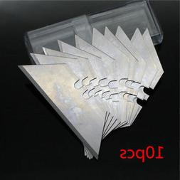 10pcs 0.6mm Trapezoid Blades Utility Replacement Blade Fit F
