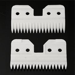 18 Teeth Ceramic Cutters Blades A5 Series Clipper Replacemen