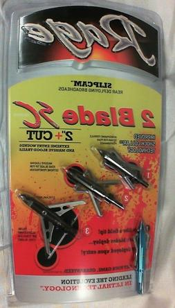Rage 2 Blade Broadhead with SC Technology