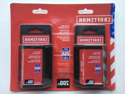 CRAFTSMAN 200-Pack Carbon Steel Replacement Blade - Fits Mos