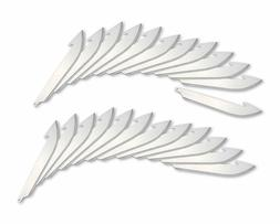 Outdoor Edge Cutlery 24pc 3.5in Replacement Blade Pack, RR35
