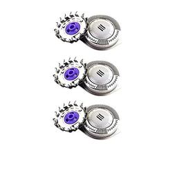 3 Pack Shaver Head Replacement Rotary Blades DualPrecision f