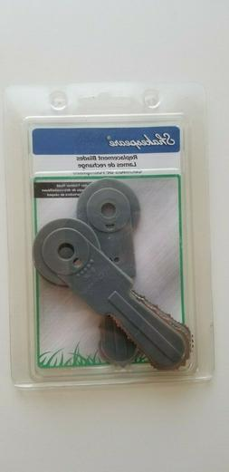 Shakespeare 3 Replacement Blades for Brush Cutter Trimmer He
