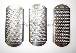 3pc Foot File Callus Remover Replacement Blades Pedicure Ras