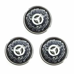 3pcs HQ56 Shaver Heads Replacement For Philips HQ3 HQ4 HQ55