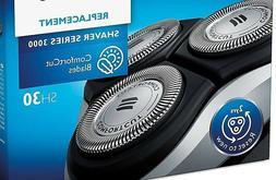 3pcs PCs SH30 SH50 Replacement Blades for Norleco Series 300