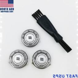 3pcs/set Shaver Razor Blades Heads Replacement for Philips H