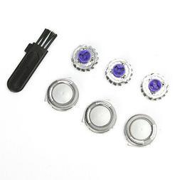 3pcs shaver razor head replacement blades
