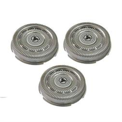 3X Replacement Shaver Blades For PHILIPS NORELCO RQ12 Sensot