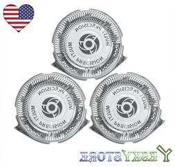 3x Shaver Razor Replacement Head Blades SH50/52 for Philips