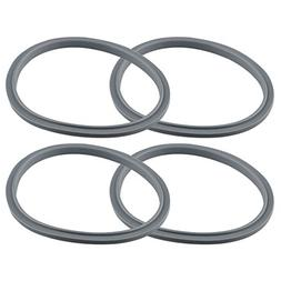 4 Gray Gasket Replacements for NutriBullet 600W 900W Extract