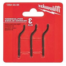 Milwaukee 48-22-4257 3pc Replacement Reaming Blades - IN STO