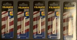 5 Stanley 11-041 replacement blade for 10-049 knife  1-lot o