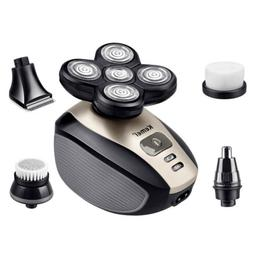 5 In 1 5D Electric Rotary Shaver Rechargeable Waterproof 5-H