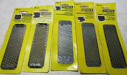 5 New Stanley # 21-398  Surform Replacement Blades - 5 1/2""