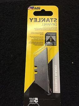 5 replacement blades drywall heavy duty utility