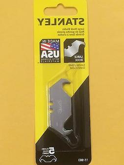 STANLEY, 5 REPLACEMENT BLADES, Large Hook Blades Part# 11-98