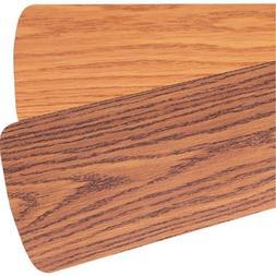"""Quorum 5255650121,Five 52"""" Reversible Dark Oak / Medium Oak"""