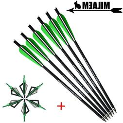 6/12pcs 16inch <font><b>Archery</b></font> Crossbow Bolts Ar