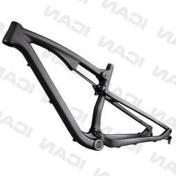 ICAN 650B Carbon Trail Bike Dual Suspension L-Frame 110mm Tr