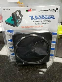 Caframo 737DX-WCS Minimax Port Battery Fan 4.5""