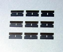 9 pcs Razors Blades Box Cutter Scraper Single Edge Replaceme