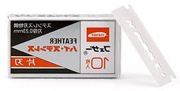 Feather FHS-10 Single Edge Razor Blades