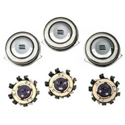 JupitorTM Replacement Set of 3 for Phillips Norelco HQ8 HQ9