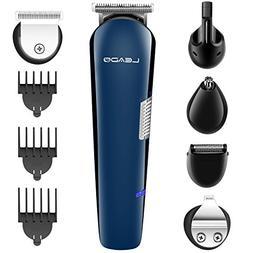 LEADO Beard Trimmer Electric Shaver Razor for Men, 5-In-1 Me