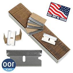 Single Edge Razor Blades, Disposable Box Cutter Safety Razor