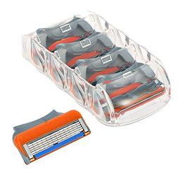 Shaver Heads for Gillette,Sorliva 16pcs 5 Layers Blades Shav