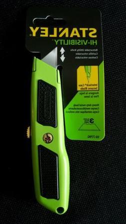 Stanley 10-779G Hi-Visibility Green DynaGrip Retractable Uti