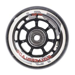 Rollerblade ABEC 5 Skate Bearings Complete Wheel Kit, 76mm/8