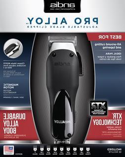 Andis AD69100 Pro Alloy XTR Clipper, Silver/Black