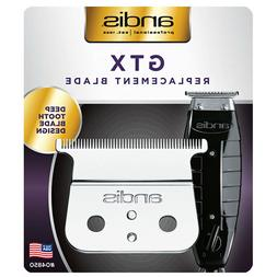 Andis GTX Hair Trimmer T-Outliner Deep Tooth Replacement Bla