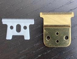 Replacement Blade Gold + Ceramic Cutter Blade for Andis Slim