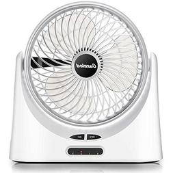 Battery Operated Fan, Portable Fan, USB Desk Fan, 7 Inch Rec
