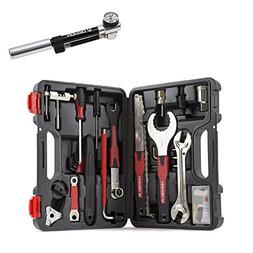 Demon Bicycle Gravity31 Tool Kit with Bike Shock Pump 300PSI