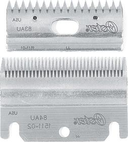Oster Clipmaster Top and Bottom Clipper Blade Set, 83AU and