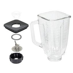Oster 6-piece Blender Replacement Glass Kit, Fits all Oster