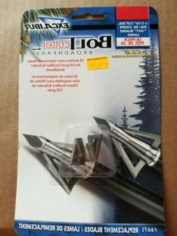 Excalibur Bolt Cutter Broadhead Replacement Blades 150 Grain