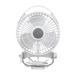 "Caframo Bora 12V 3-Speed 6"" Marine Fan White"