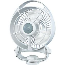 "Caframo Bora 748 12V 3-Speed 6"" Marine Fan - White 748CAWBX"