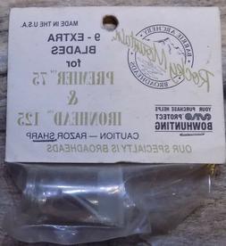 Rocky Mountain Broadhead Replacement Blades Vintage  NIP USA