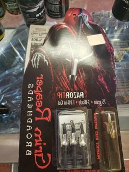 Grim Reaper RAZORTIP 75 GRAIN BROADHEADS-3 PACK