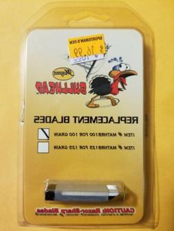 bullhead replacement blades for 100 grain mathrb100