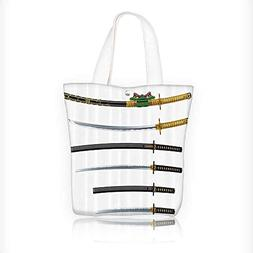 Canvas Tote Bags mof Curved Slender Single Edged Blade Japan