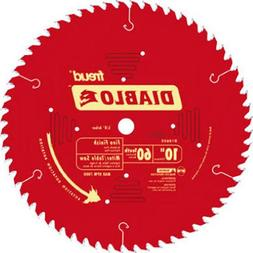 Circular Saw Blade 10in 60 Tooth Fine Finish Strong Precise