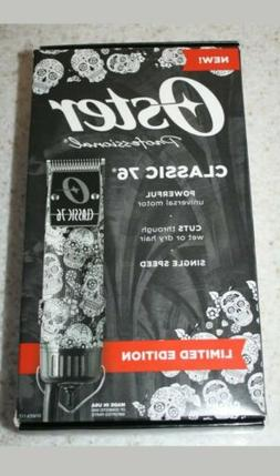 Clipper Oster Professional Classic 76 Limited Edition Skull